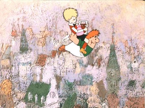 Карлсон который живет на крыше картинки мультфильм 9